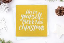 Christmas Cards / Our favourite stand out Christmas cards.