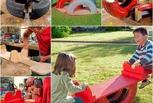 ogrodowe zabawki