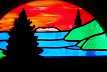 Barb's Stained Glass Designs / Creating stained glass designs for customers then constructing the design for them.