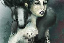 digitale Zeichnungen - Rebecca Kiessus / meine Illustrationen und Grafiken