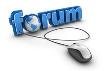 Global Business Forum / A forum, or message board, is an online discussion site where people can hold conversations in the form of posted messages.