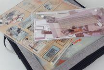 Rangement papiers et chutes de papiers scrapbooking