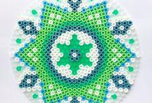Hama beads art