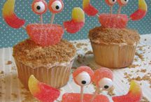 Ocean Themed Treats / Have an ocean themed party coming up? Just feel like whipping up something sweet and also adorable? Here's some inspiration to get you going!  / by Virginia Aquarium & Marine Science Center