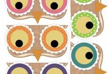 owls / by Mitzi James