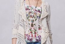 Anthro-Style, Boho and Other Clothing / Clothing from Anthropologie and which looks like it's from Anthropologie.