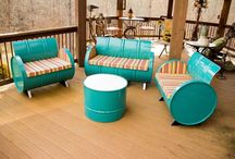 Interesting Reclaimed Furniture / Furniture made from recycled materials.