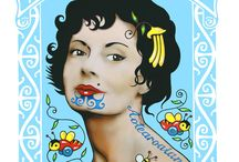 Art - Lester Hall / http://www.lesterhall.com/artist/