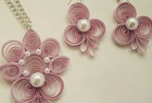 paper quilled jewellery