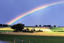 Rainbow / Rainbow in my heart...