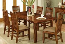 Solid Cherry Furniture / http://www.lafuente.com/Rustic-Furniture/Solid-Cherry-Furniture/
