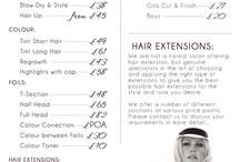 salon ideas / by Ranisha Jones