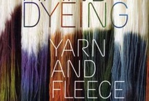 Books About Fiber / Books that I own or need regarding spinning, dyeing, knitting, felting, embroidery, etc.