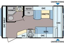 Coleman RV Floorplans