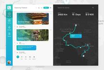 UX Maps/ Trips/ Travel