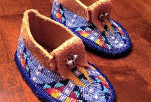 Wonderful, comfortable moccosins / by Lamborn Leather Designs