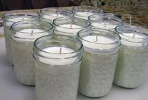 Homemade candles and soap / by Trista Crawford