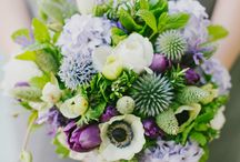 Wedding Flowers / Beautiful flowers, inspiration, and bouquet ideas