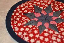Topfuntersetzer / Topfuntersetzer aus japanischen Stoffen von NORIKO handmade