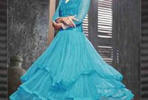 Wedding collection of saress, gowns, lehengas and muchmore