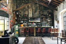 Bicycle cafe workshop