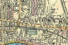 Old maps with location Limehouse Dock