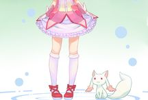 Mahou Shoujo Madoka ☆ Magica 魔法少女まどか☆マギカ / Tag : Action, Yuri, Mystery, Mahou Shoujo...