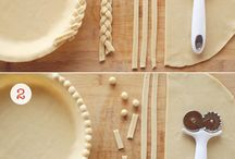 Pie recipes& decoration