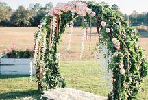 arcos con flores