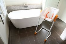 No BATH at Home NO WORRIES with CharliChair / So many apartments & Housings now have No BATHS at home; SOLUTION: www.charlichair.com great Baby Gift Ideas