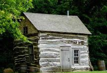 Old primitive cabins and homes / by Jan MacKay