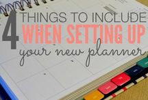 Planners / I love me a good paper planner! Lots of great ones pinned here, plus wonderful tips on how best to use your paper planner.