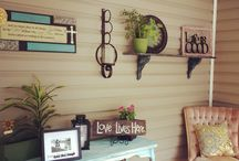 My lil' projects of happiness / Things I have crafted for my home & absolutely LOVE