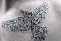Tatuajes / Tatuajes sencillos y bellos.