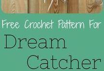 crochet dream catchers