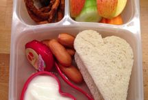 Easy Lunchboxes / School Lunches for a Firstgrader...