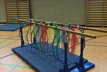 Kinder Gym Set Up