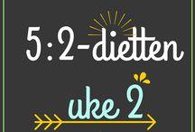 5:2 dietten / Mat
