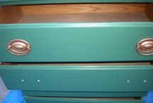 Painted furniture / by Tori Wilkerson