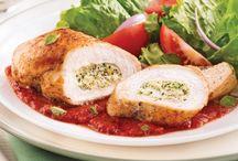 viande et poulet