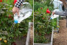 Reciclando galão de água