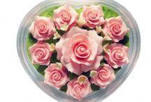 Jabones Artesanales / Jabones artesanales con forma de flor, jabones artesanales para bodas