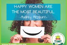 women week / ¡En Froggin celebramos a todas las mujeres!   #womenweek #froggin