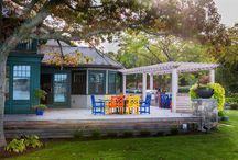 Outdoor Living Spaces / Spaces for living outdoors can add immeasurably to your daily joy, and the beauty of your home.