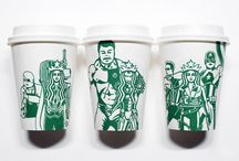 Starbucks Cup Drawings