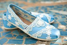Custom TOMS  / Very excited to introduce my new and completely original wedding Toms line! By The Crystal Slipper
