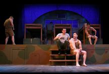 """""""Biloxi Blues"""" - 2017 Season - April 26 - May 14, 2017 / By Neil Simon It's 1943. Come back in time with us to World War II era, Biloxi, Mississippi.  It's boot camp for a young man from Brooklyn and his fellow recruits where they will learn about Life and Love and some of life's harsher lessons.  Winner - 1985 Tony Award for Best Play."""