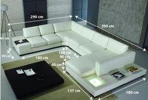 Canapé Cuir d'Angle