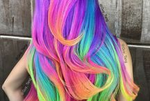 SO PRETTY RAINBOW HAIR