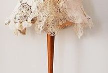Lampshades / Lace shades